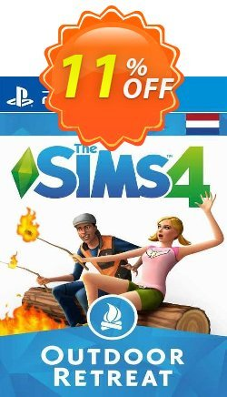 The Sims 4 - Outdoor Retreat Expansion Pack PS4 - Netherlands  Coupon discount The Sims 4 - Outdoor Retreat Expansion Pack PS4 (Netherlands) Deal 2021 CDkeys - The Sims 4 - Outdoor Retreat Expansion Pack PS4 (Netherlands) Exclusive Sale offer for iVoicesoft