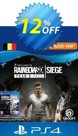 Tom Clancy's Rainbow Six Siege - Year 5 Pass PS4 - Belgium  Coupon discount Tom Clancy's Rainbow Six Siege - Year 5 Pass PS4 (Belgium) Deal 2021 CDkeys - Tom Clancy's Rainbow Six Siege - Year 5 Pass PS4 (Belgium) Exclusive Sale offer for iVoicesoft