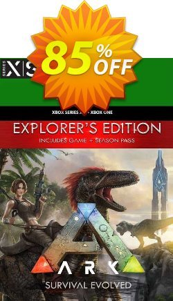 ARK Survival Evolved Explorers Edition Xbox One/Xbox Series X|S - US  Coupon discount ARK Survival Evolved Explorers Edition Xbox One/Xbox Series X|S (US) Deal 2021 CDkeys. Promotion: ARK Survival Evolved Explorers Edition Xbox One/Xbox Series X|S (US) Exclusive Sale offer for iVoicesoft