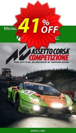 Assetto Corsa Competizione Xbox One - UK  Coupon discount Assetto Corsa Competizione Xbox One (UK) Deal 2021 CDkeys - Assetto Corsa Competizione Xbox One (UK) Exclusive Sale offer for iVoicesoft