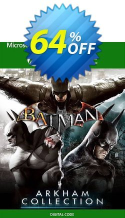 Batman: Arkham Collection Xbox One - EU  Coupon discount Batman: Arkham Collection Xbox One (EU) Deal 2021 CDkeys - Batman: Arkham Collection Xbox One (EU) Exclusive Sale offer for iVoicesoft