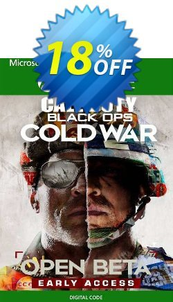 Call of Duty: Black Ops Cold War Beta Access Xbox One Coupon discount Call of Duty: Black Ops Cold War Beta Access Xbox One Deal 2021 CDkeys - Call of Duty: Black Ops Cold War Beta Access Xbox One Exclusive Sale offer for iVoicesoft