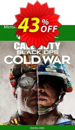 Call of Duty: Black Ops Cold War - Standard Edition Xbox One - UK  Coupon discount Call of Duty: Black Ops Cold War - Standard Edition Xbox One (UK) Deal 2021 CDkeys - Call of Duty: Black Ops Cold War - Standard Edition Xbox One (UK) Exclusive Sale offer for iVoicesoft