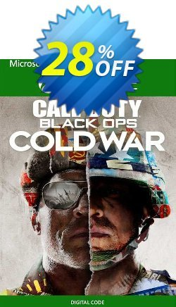 Call of Duty: Black Ops Cold War - Standard Edition Xbox One - US  Coupon discount Call of Duty: Black Ops Cold War - Standard Edition Xbox One (US) Deal 2021 CDkeys - Call of Duty: Black Ops Cold War - Standard Edition Xbox One (US) Exclusive Sale offer for iVoicesoft