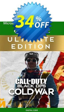 Call of Duty: Black Ops Cold War - Ultimate Edition Xbox One - EU  Coupon discount Call of Duty: Black Ops Cold War - Ultimate Edition Xbox One (EU) Deal 2021 CDkeys - Call of Duty: Black Ops Cold War - Ultimate Edition Xbox One (EU) Exclusive Sale offer for iVoicesoft