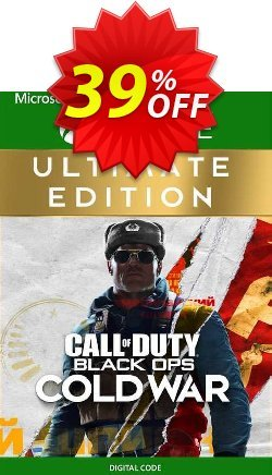 Call of Duty: Black Ops Cold War - Ultimate Edition Xbox One - UK  Coupon discount Call of Duty: Black Ops Cold War - Ultimate Edition Xbox One (UK) Deal 2021 CDkeys - Call of Duty: Black Ops Cold War - Ultimate Edition Xbox One (UK) Exclusive Sale offer for iVoicesoft