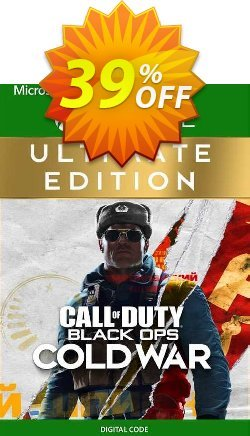 Call of Duty: Black Ops Cold War - Ultimate Edition Xbox One - US  Coupon discount Call of Duty: Black Ops Cold War - Ultimate Edition Xbox One (US) Deal 2021 CDkeys - Call of Duty: Black Ops Cold War - Ultimate Edition Xbox One (US) Exclusive Sale offer for iVoicesoft