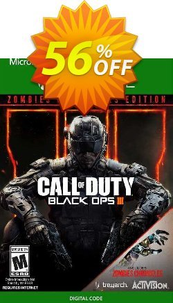 Call of Duty Black Ops III 3 - Zombies Chronicles Edition Xbox One - US  Coupon discount Call of Duty Black Ops III 3 - Zombies Chronicles Edition Xbox One (US) Deal 2021 CDkeys - Call of Duty Black Ops III 3 - Zombies Chronicles Edition Xbox One (US) Exclusive Sale offer for iVoicesoft