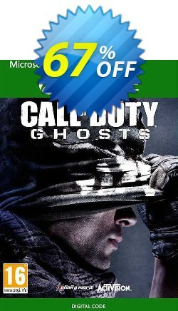 Call of Duty Ghosts Xbox One - UK  Coupon discount Call of Duty Ghosts Xbox One (UK) Deal 2021 CDkeys - Call of Duty Ghosts Xbox One (UK) Exclusive Sale offer for iVoicesoft