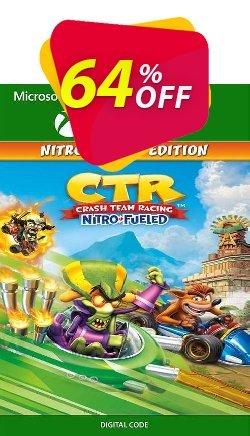 Crash Team Racing Nitro-Fueled - Nitros Oxide Edition Xbox One - UK  Coupon discount Crash Team Racing Nitro-Fueled - Nitros Oxide Edition Xbox One (UK) Deal 2021 CDkeys - Crash Team Racing Nitro-Fueled - Nitros Oxide Edition Xbox One (UK) Exclusive Sale offer for iVoicesoft