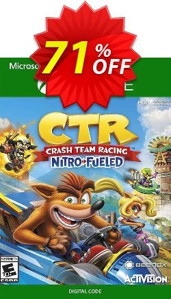 Crash Team Racing Nitro-Fueled Xbox one - US  Coupon discount Crash Team Racing Nitro-Fueled Xbox one (US) Deal 2021 CDkeys - Crash Team Racing Nitro-Fueled Xbox one (US) Exclusive Sale offer for iVoicesoft