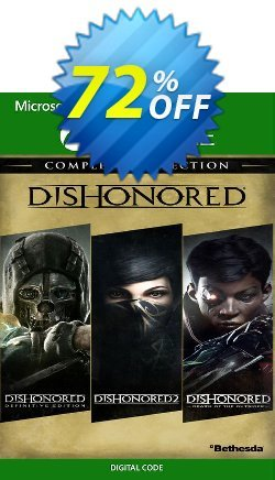 Dishonored The Complete Collection Xbox One - UK  Coupon discount Dishonored The Complete Collection Xbox One (UK) Deal 2021 CDkeys - Dishonored The Complete Collection Xbox One (UK) Exclusive Sale offer for iVoicesoft