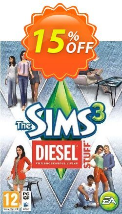 The Sims 3: Diesel Stuff Pack PC Coupon discount The Sims 3: Diesel Stuff Pack PC Deal. Promotion: The Sims 3: Diesel Stuff Pack PC Exclusive offer for iVoicesoft