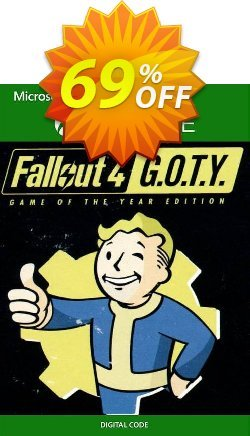Fallout 4 - Game of the Year Edition Xbox One - EU  Coupon discount Fallout 4 - Game of the Year Edition Xbox One (EU) Deal 2021 CDkeys - Fallout 4 - Game of the Year Edition Xbox One (EU) Exclusive Sale offer for iVoicesoft