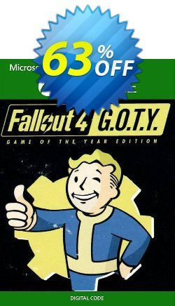 Fallout 4: Game of the Year Edition Xbox One - UK  Coupon discount Fallout 4: Game of the Year Edition Xbox One (UK) Deal 2021 CDkeys - Fallout 4: Game of the Year Edition Xbox One (UK) Exclusive Sale offer for iVoicesoft