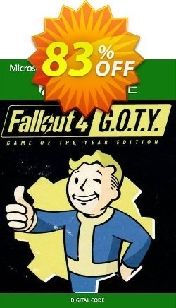 Fallout 4 - Game of the Year Edition Xbox One - US  Coupon discount Fallout 4 - Game of the Year Edition Xbox One (US) Deal 2021 CDkeys - Fallout 4 - Game of the Year Edition Xbox One (US) Exclusive Sale offer for iVoicesoft