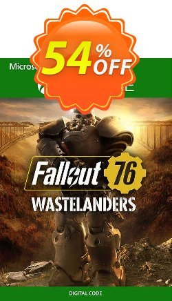 Fallout 76 Wastelanders Xbox One - US  Coupon discount Fallout 76 Wastelanders Xbox One (US) Deal 2021 CDkeys - Fallout 76 Wastelanders Xbox One (US) Exclusive Sale offer for iVoicesoft