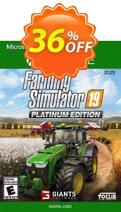 Farming Simulator 19 - Platinum Edition Xbox One - UK  Coupon discount Farming Simulator 19 - Platinum Edition Xbox One (UK) Deal 2021 CDkeys - Farming Simulator 19 - Platinum Edition Xbox One (UK) Exclusive Sale offer for iVoicesoft