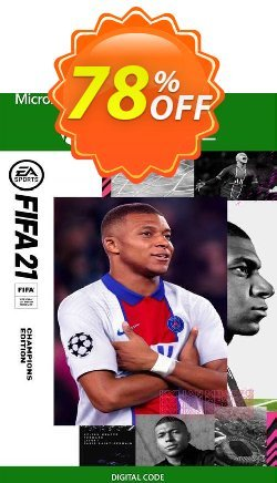 FIFA 21 - Champions Edition Xbox One/Xbox Series X|S - EU  Coupon discount FIFA 21 - Champions Edition Xbox One/Xbox Series X|S (EU) Deal 2021 CDkeys. Promotion: FIFA 21 - Champions Edition Xbox One/Xbox Series X|S (EU) Exclusive Sale offer for iVoicesoft