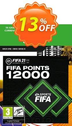 FIFA 21 Ultimate Team 12000 Points Pack Xbox One / Xbox Series X Coupon discount FIFA 21 Ultimate Team 12000 Points Pack Xbox One / Xbox Series X Deal 2021 CDkeys - FIFA 21 Ultimate Team 12000 Points Pack Xbox One / Xbox Series X Exclusive Sale offer for iVoicesoft