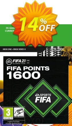 FIFA 21 Ultimate Team 1600 Points Pack Xbox One / Xbox Series X Coupon discount FIFA 21 Ultimate Team 1600 Points Pack Xbox One / Xbox Series X Deal 2021 CDkeys - FIFA 21 Ultimate Team 1600 Points Pack Xbox One / Xbox Series X Exclusive Sale offer for iVoicesoft