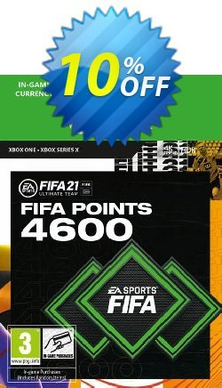 FIFA 21 Ultimate Team 4600 Points Pack Xbox One / Xbox Series X Coupon discount FIFA 21 Ultimate Team 4600 Points Pack Xbox One / Xbox Series X Deal 2021 CDkeys - FIFA 21 Ultimate Team 4600 Points Pack Xbox One / Xbox Series X Exclusive Sale offer for iVoicesoft