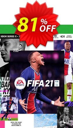 FIFA 21 Xbox One/Xbox Series X S - US  Coupon discount FIFA 21 Xbox One/Xbox Series X S (US) Deal 2021 CDkeys - FIFA 21 Xbox One/Xbox Series X S (US) Exclusive Sale offer for iVoicesoft