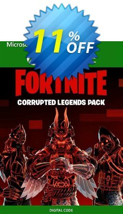 Fortnite - Corrupted Legends Pack Xbox One - UK  Coupon discount Fortnite - Corrupted Legends Pack Xbox One (UK) Deal 2021 CDkeys - Fortnite - Corrupted Legends Pack Xbox One (UK) Exclusive Sale offer for iVoicesoft