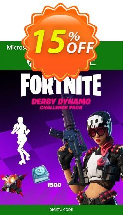 Fortnite - Derby Dynamo Challenge Pack Xbox One - UK  Coupon discount Fortnite - Derby Dynamo Challenge Pack Xbox One (UK) Deal 2021 CDkeys - Fortnite - Derby Dynamo Challenge Pack Xbox One (UK) Exclusive Sale offer for iVoicesoft
