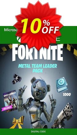 Fortnite - Metal Team Leader Pack Xbox One - UK  Coupon discount Fortnite - Metal Team Leader Pack Xbox One (UK) Deal 2021 CDkeys - Fortnite - Metal Team Leader Pack Xbox One (UK) Exclusive Sale offer for iVoicesoft