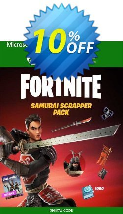 Fortnite: Samurai Scrapper Pack Xbox One - UK  Coupon discount Fortnite: Samurai Scrapper Pack Xbox One (UK) Deal 2021 CDkeys - Fortnite: Samurai Scrapper Pack Xbox One (UK) Exclusive Sale offer for iVoicesoft