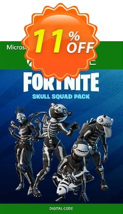 Fortnite - Skull Squad Pack Xbox One - UK  Coupon discount Fortnite - Skull Squad Pack Xbox One (UK) Deal 2021 CDkeys - Fortnite - Skull Squad Pack Xbox One (UK) Exclusive Sale offer for iVoicesoft