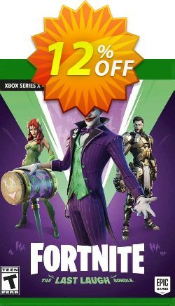 Fortnite: The Last Laugh Bundle Xbox X Coupon discount Fortnite: The Last Laugh Bundle Xbox X Deal 2021 CDkeys - Fortnite: The Last Laugh Bundle Xbox X Exclusive Sale offer for iVoicesoft