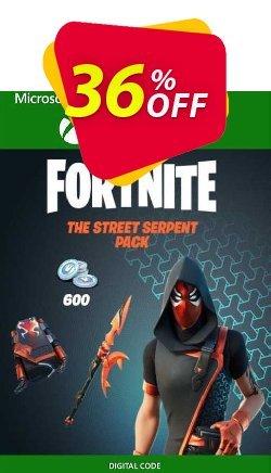 Fortnite - The Street Serpent Pack Xbox One - UK  Coupon discount Fortnite - The Street Serpent Pack Xbox One (UK) Deal 2021 CDkeys - Fortnite - The Street Serpent Pack Xbox One (UK) Exclusive Sale offer for iVoicesoft