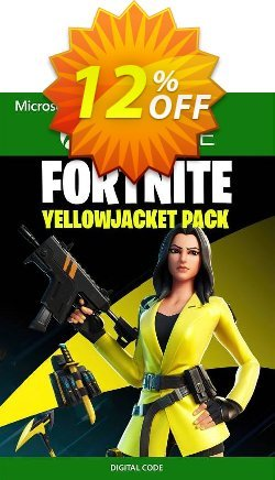 Fortnite - The Yellow Jacket Pack Xbox One - US  Coupon discount Fortnite - The Yellow Jacket Pack Xbox One (US) Deal 2021 CDkeys. Promotion: Fortnite - The Yellow Jacket Pack Xbox One (US) Exclusive Sale offer for iVoicesoft