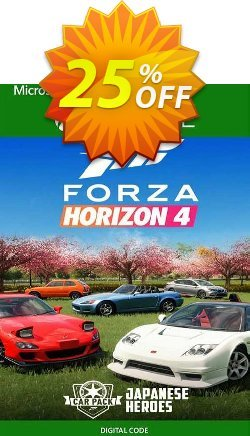 Forza Horizon 4 Japanese Heroes Car Pack Xbox One - UK  Coupon discount Forza Horizon 4 Japanese Heroes Car Pack Xbox One (UK) Deal 2021 CDkeys - Forza Horizon 4 Japanese Heroes Car Pack Xbox One (UK) Exclusive Sale offer for iVoicesoft