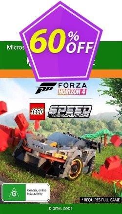 Forza Horizon 4 Lego Speed Champions Xbox One - UK  Coupon discount Forza Horizon 4 Lego Speed Champions Xbox One (UK) Deal 2021 CDkeys - Forza Horizon 4 Lego Speed Champions Xbox One (UK) Exclusive Sale offer for iVoicesoft