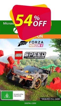 Forza Horizon 4: Lego Speed Champions Xbox One - US  Coupon discount Forza Horizon 4: Lego Speed Champions Xbox One (US) Deal 2021 CDkeys - Forza Horizon 4: Lego Speed Champions Xbox One (US) Exclusive Sale offer for iVoicesoft