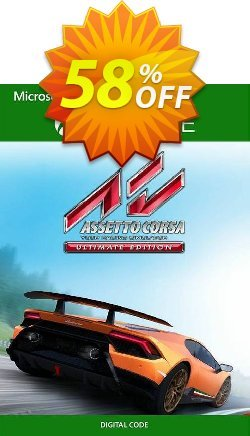 Assetto Corsa Ultimate Edition Xbox One - UK  Coupon discount Assetto Corsa Ultimate Edition Xbox One (UK) Deal 2021 CDkeys - Assetto Corsa Ultimate Edition Xbox One (UK) Exclusive Sale offer for iVoicesoft