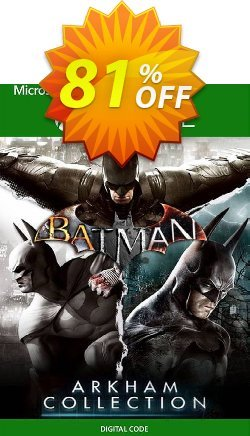 Batman: Arkham Collection Xbox One - US  Coupon discount Batman: Arkham Collection Xbox One (US) Deal 2021 CDkeys - Batman: Arkham Collection Xbox One (US) Exclusive Sale offer for iVoicesoft