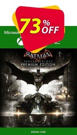 Batman: Arkham Knight Premium Edition Xbox One - UK  Coupon discount Batman: Arkham Knight Premium Edition Xbox One (UK) Deal 2021 CDkeys - Batman: Arkham Knight Premium Edition Xbox One (UK) Exclusive Sale offer for iVoicesoft