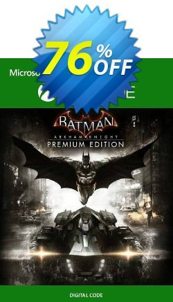 Batman: Arkham Knight Premium Edition Xbox One - US  Coupon discount Batman: Arkham Knight Premium Edition Xbox One (US) Deal 2021 CDkeys - Batman: Arkham Knight Premium Edition Xbox One (US) Exclusive Sale offer for iVoicesoft