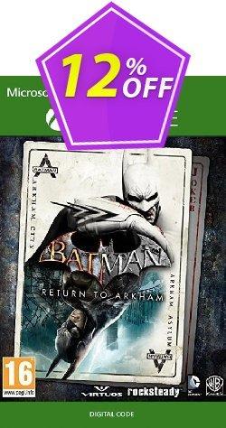 Batman: Return to Arkham Xbox One Coupon discount Batman: Return to Arkham Xbox One Deal 2021 CDkeys - Batman: Return to Arkham Xbox One Exclusive Sale offer for iVoicesoft