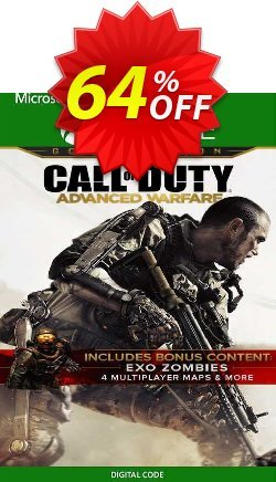 Call of Duty Advanced Warfare Gold Edition Xbox One - UK  Coupon discount Call of Duty Advanced Warfare Gold Edition Xbox One (UK) Deal 2021 CDkeys - Call of Duty Advanced Warfare Gold Edition Xbox One (UK) Exclusive Sale offer for iVoicesoft