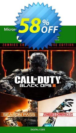 Call of Duty Black Ops III: Zombies Deluxe Xbox One - US  Coupon discount Call of Duty Black Ops III: Zombies Deluxe Xbox One (US) Deal 2021 CDkeys - Call of Duty Black Ops III: Zombies Deluxe Xbox One (US) Exclusive Sale offer for iVoicesoft