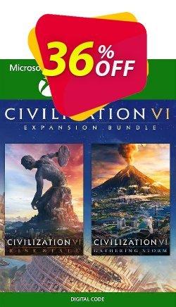 Civilization VI  Expansion Bundle Xbox One - UK  Coupon discount Civilization VI  Expansion Bundle Xbox One (UK) Deal 2021 CDkeys - Civilization VI  Expansion Bundle Xbox One (UK) Exclusive Sale offer for iVoicesoft