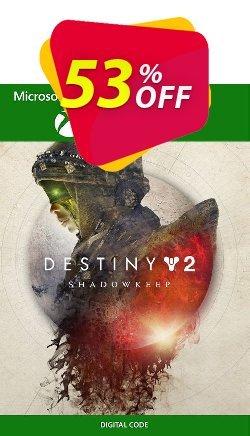 Destiny 2 Shadowkeep Xbox One - UK  Coupon discount Destiny 2 Shadowkeep Xbox One (UK) Deal 2021 CDkeys - Destiny 2 Shadowkeep Xbox One (UK) Exclusive Sale offer for iVoicesoft