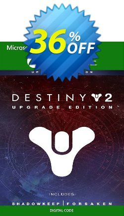 Destiny 2: Upgrade Edition Xbox One - US  Coupon discount Destiny 2: Upgrade Edition Xbox One (US) Deal 2021 CDkeys - Destiny 2: Upgrade Edition Xbox One (US) Exclusive Sale offer for iVoicesoft