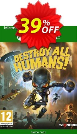 Destroy All Humans! Xbox One - UK  Coupon discount Destroy All Humans! Xbox One (UK) Deal 2021 CDkeys - Destroy All Humans! Xbox One (UK) Exclusive Sale offer for iVoicesoft