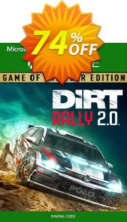 Dirt Rally 2.0 - Game of the Year Edition Xbox One - UK  Coupon discount Dirt Rally 2.0 - Game of the Year Edition Xbox One (UK) Deal 2021 CDkeys - Dirt Rally 2.0 - Game of the Year Edition Xbox One (UK) Exclusive Sale offer for iVoicesoft